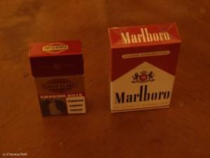 und die indischen Zigaretten?